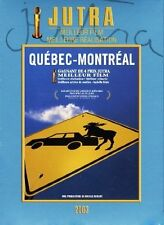 "RARE! DVD ""QUEBEC - MONTREAL"" film Canadien de Nicole ROBERT // ZONE 1"