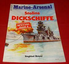Marine-Arsenal Special Band 4 Stalins Dickschiffe