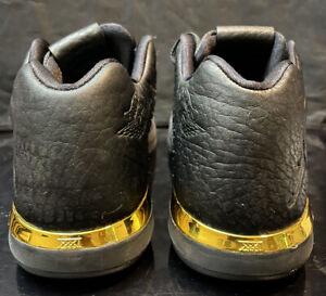 Nike Air Jordan XXXI Sz 8.5 Black Gold Woven Og Lot Rare