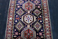 5X3 MASTERPIECE MINT 300KPSI HAND KNOTTED HI QUALITY GEOMETRIC VALUABLE WOOL RUG