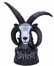 More details for official licensed slipknot flaming goat bust figurine goat heavy metal statue