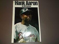 "Vintage SPORTS Bio HANK AARON by Bill Gutman 1973 Grosset & Dunlap/5""x8.5 PB"