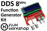 Función Generador de Señales Kit Avr Dds 5V Seno Cuadrado Sierra BNC 8Mhz