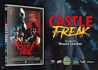 Castle Freak (DVD - Fright Vision) Limited 50 cp +Card Autografata Charles Band