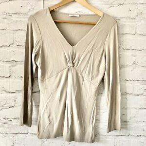THE WHITE COMPANY Top Size Small BEIGE | Smart CASUAL Work Office