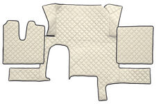 LKW Kunstleder Fußmatten für Man TGX - ( EIN SCHUBLADE ) LKW- automatikschaltung