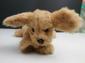 "VTG 1985 Gund Golden Retriever Plush Dog Large 10"" Muttsy Floppy Puppy Squeaks"