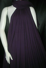 Bamboo Cotton Lycra Jersey Knit Fabric Eco-Friendly 4ways spandex Plum
