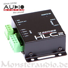 AUDIO SYSTEM HLC-2 High-Low-Level-Adapter-Converter Konverter Autoradio Adapter
