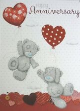 Me To You ~Anniversary Card~ Red~Heart Balloon~ Romantic~Wife~Husband~ Free P+P