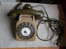 Téléphone vintage Socotel S63 kaki