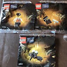 Very Rare Lego Studios 4058 4068 4069 Sealed Polybag Spielberg