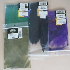 New And Open Packages Of Various Blood Quill Hackle & Feathers Free Shipping