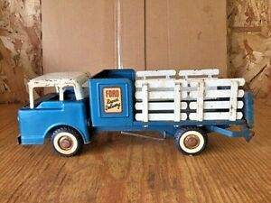 """NYLINT 18.5"""" FORD RAPID DELIVERY TRUCK #3600 TILT CAB LIFT GATE USED CONDITION"""