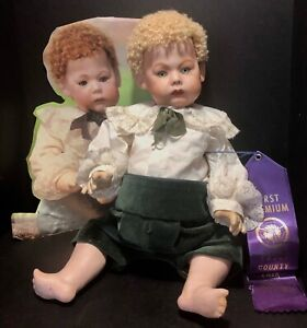 """Vintage Reproduction 16"""" Armand Marsailles Doll A7M Fany Antique Baby Body"""