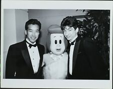 Peter Kwong, Wilma Flinstone, Don Frischman ORIGINAL PHOTO HOLLYWOOD Candid
