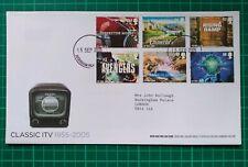 2005 Classic ITV 1955-2005 FDC Buckingham Palace CDS