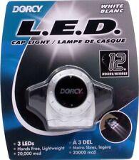 NEW Dorcy 3 LED Cap Light 13 Lumens Headlight Flashlight Model 41-2105