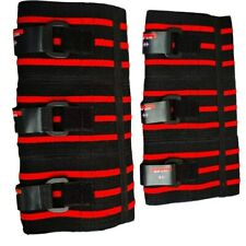 PAIR ELBOW/KNEE SUPPORT SLEEVES  BY HIT-PR, ELBOW WRAPS BRACES, STRONG LIFT
