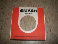 "One 45 rpm SMASH company sleeve original record sleeve 7"""