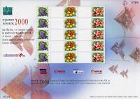 Thailand 2000 Personalisierbarer Kleinbogen Heilpflanzen Neujahr 1964-1966 MNH