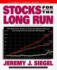 Stocks for the Long Run Siegel, Jeremy J. Hardcover