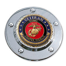 MotorDog69 Marine Veteran Harley Timing Cover Coin Mount Set