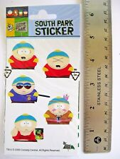"South Park Cartman Set Of 10 paper stickers 1.25"" Cop Indian Beefcake Sealed!"