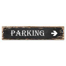 SP-0003 Parking Street Sign Bar Store Shop Pub Cafe Home Shabby Chic Decor