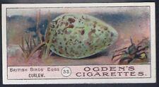 OGDENS-BIRDS EGGS 1908-#33- CURLEW