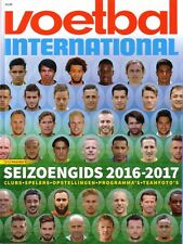 2016 2017 Netherlands Holland Voetbal Dutch Football Season Preview Magazine