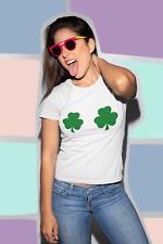 Trébol tetas día mujeres graciosa chica broma irlandés de camiseta duende St Patrick
