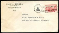 DOMINICAN REPUBLIC TO GERMANY Cover 1938, VF