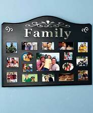 17 Opening Family Collage Photo Picture Frame Living Room Kitchen Home Decor