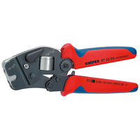 Knipex Self Adjusting Crimping Pliers / Crimpers - End Sleeve Ferrule 97 53 09