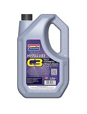 Granville Hypalube Fully Synthetic 5w30 C3 Engine Oil 5 Litre Petrol and Diesel