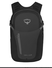 Osprey Packs Daylite Plus Backpack, Black, Hiking, Camping, Travel, Compact 20L