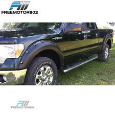 Fits 09-14 Ford F150 2Dr 4Dr Boss Pocket Rivet Fender Flares Smooth