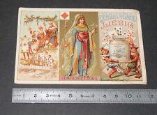 CHROMO LIEBIG 1878-1883 SERIE 70 CARTE A JOUER ORDRE PAR VALEUR DES CARTES
