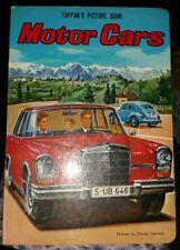 Golden Board Book Motor Cars Toppan's Picture Board Book, Hitoshi Umemoto 1970