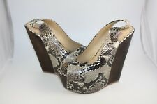 Gianmarco Lorenzi Women's Formal Designer Shoes Authentic Python Fashion