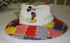 Vintage Disney Mickey Mouse Sun Hat 60s - Htf Children's Size Collectible