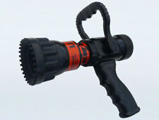 "Flush-Fog-Stream Fire Fighting Nozzle - Suits 1.5"" Hose, 150 - 300L/min"