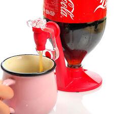 1X Coke Upside Down Water Soda Drinking Bottle Fizz Saver Dispenser Machine Pop!