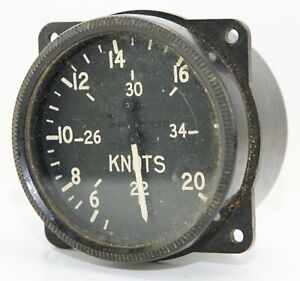 ASI Mk 9 reading to 340 knots, for RAF Lancaster etc (GB7)
