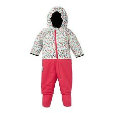 Roxy Sweet Pea Baby Suit One Piece Snowsuit (12 months) Bright Rose