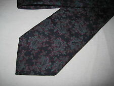 56 x 3.5 Navy Paisley SILK Tie Necktie Jefferson (1136) ~  FREE US SHIP