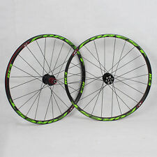 Alloy Mountain Bike 26inch Rim Sealed bearing Wheels Wheelset Rims SportingTool!