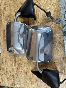 94 95 96 97 Dodge Ram Side Mirror Pair Chrome Power RH LH Set