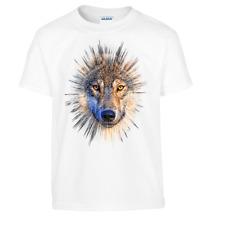 Wolf t.shirt  BNIB all sizes free post  boys or girls